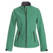 Куртка софтшелл женская TRIAL LADY зеленая, размер S