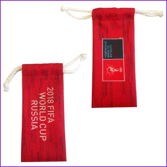 Чехол Ткнаь оксфорд, шнур нейлоновый, печать по ткани.