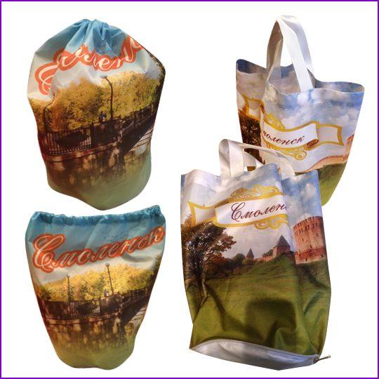 сумка декоративная материал габардин, печать по ткани.