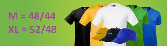 Как подобрать размер одежды под логотип