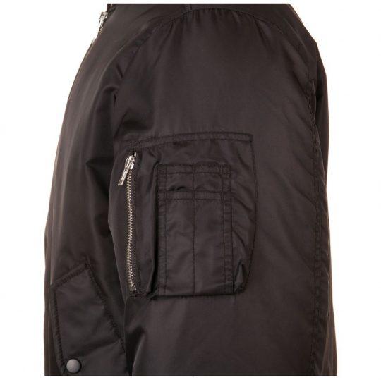 Куртка бомбер унисекс Remington черная, размер S