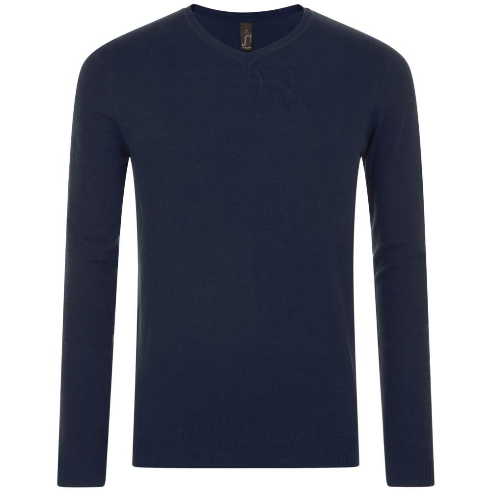 Синий пуловер мужской с доставкой