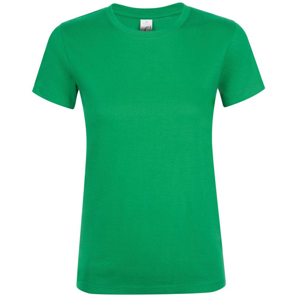 Зеленая Футболка Женская