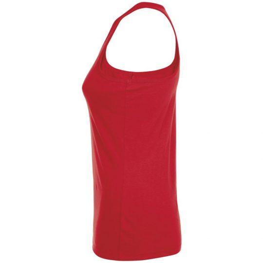 Майка женская JUSTIN WOMEN красная, размер XL