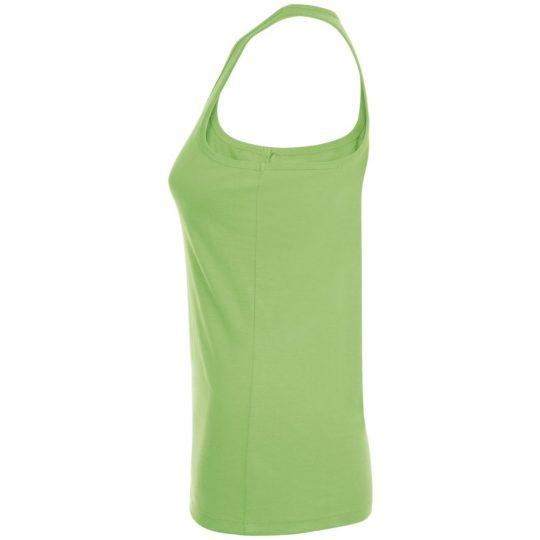 Майка женская JUSTIN WOMEN зеленый лайм, размер XL