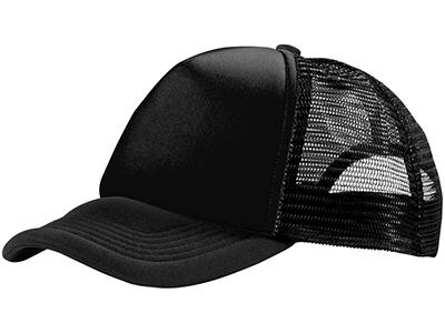 Бейсболка «Trucker», черный
