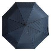 Зонт складной Magic с проявляющимся рисунком, темно-синий