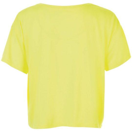 Футболка женская MAEVA желтый неон, размер XL/XXL