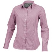 Рубашка «Net» женская с длинным рукавом, красный ( XS )