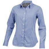 Рубашка «Net» женская с длинным рукавом, синий ( XS )