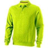Свитер поло «Referee» мужской, зеленое яблоко ( XL )