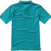 """Рубашка поло """"Calgary"""" мужская, аква ( S )"""