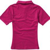 """Рубашка поло """"Calgary"""" женская, розовый ( 2XL )"""