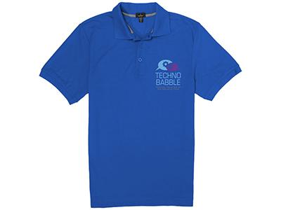 Рубашка поло «Crandall» мужская, синий ( M )