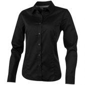 Рубашка «Wilshire» женская с длинным рукавом, черный ( XS )