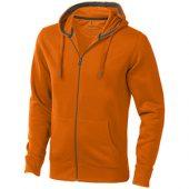 """Свитер """"Arora"""" мужской с капюшоном, оранжевый ( XS ), арт. 006231203"""