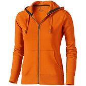 Свитер «Arora» женский с капюшоном, оранжевый ( XS )