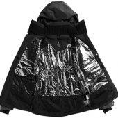 "Куртка ""Ozark"" мужская, черный/серый ( XS ), арт. 006247103"