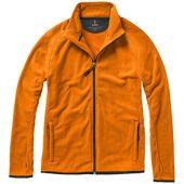 """Куртка флисовая """"Brossard"""", мужская, оранжевый ( XS ), арт. 006220403"""