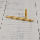 """Ручка гелевая """"Перикл"""" в подарочной коробке, золотистый"""