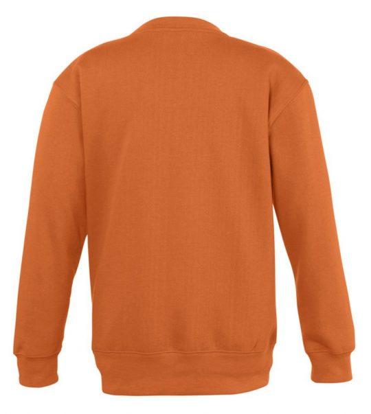 Толстовка детская New supreme kids 280, оранжевая, на рост 118-128 см