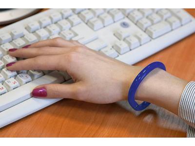 Ручка шариковая-браслет «Арт-Хаус», синий