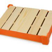 Коробка под ежедневник (без ложемента для ручки), оранжевый
