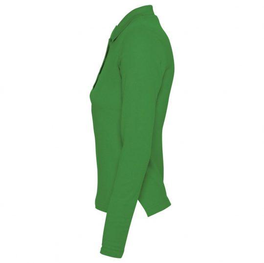 Рубашка поло женская PODIUM ярко-зеленая, размер M