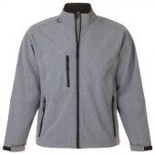 Куртка мужская на молнии RELAX 340, серый меланж, размер M