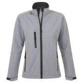 Куртка женская на молнии ROXY 340, серый меланж, размер XL