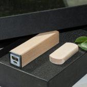 Набор ЭКО 1/09 (U-PK023, Z053, DR009) (черный, 119х195*45, липа натуральная на 2600 mah,липа натуральная с чипом 8 гб)