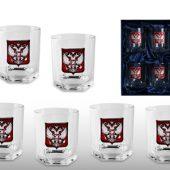 """Набор стаканов для виски """"Российский стиль"""", арт. 006567803"""