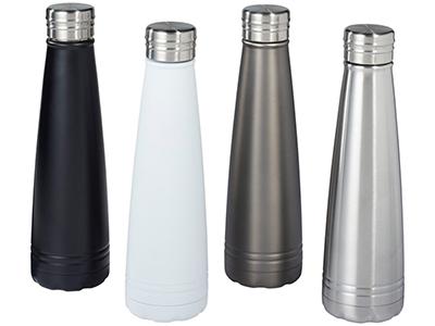 Вакуумная бутылка Duke с медным покрытием, серый