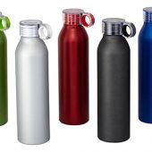 Спортивная алюминиевая бутылка Grom, черный, арт. 009184503