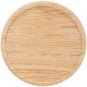 Керамическая чашка Hearth с деревянной крышкой-костером, черный/белый, арт. 009151603