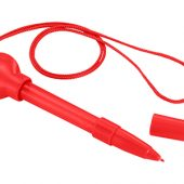 Ручка шариковая с мыльными пузырями, красный