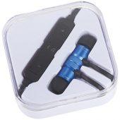 Наушники Martell магнитные с Bluetooth в чехле, ярко-синий, арт. 009187103