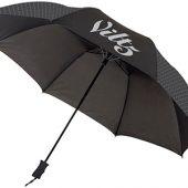 Зонт Victor 23″ двухсекционный полуавтомат, черный, арт. 009188203