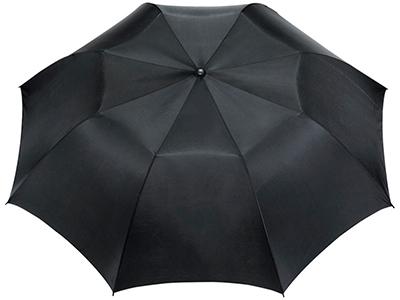 Зонт Argon 30″ двухсекционный полуавтомат, черный, арт. 009188703