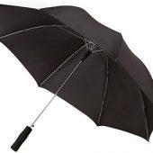 Зонт-трость Tonya 23″ полуавтомат, серый/белый, арт. 009168403
