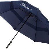 Зонт-трость Bedford 32″ противоштормовой, темно-синий, арт. 009189003