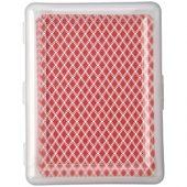 Карточная игра Reno в чехле, прозрачный/красный, арт. 009179403