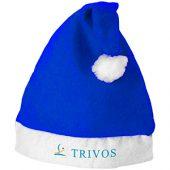 Новогодняя шапка, ярко-синий/белый, арт. 009176503