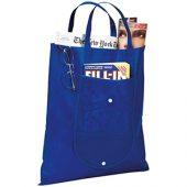 Складная сумка Maple из нетканого материала, синий, арт. 009181303