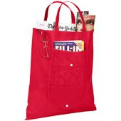 Складная сумка Maple из нетканого материала, красный, арт. 009181203