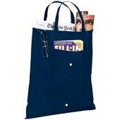 Складная сумка Maple из нетканого материала, темно-синий, арт. 009181103
