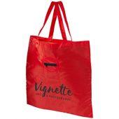 Складная сумка для покупок, красный, арт. 009182003