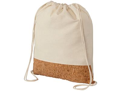 Рюкзак из хлопка и пробки, натуральный, арт. 009182503