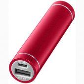 """Зарядное устройство """"Bolt"""", 2200 mAh, красный"""