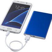 """Портативное зарядное устройство """"Pep"""" 4000 mAh, ярко-синий, арт. 009210203"""